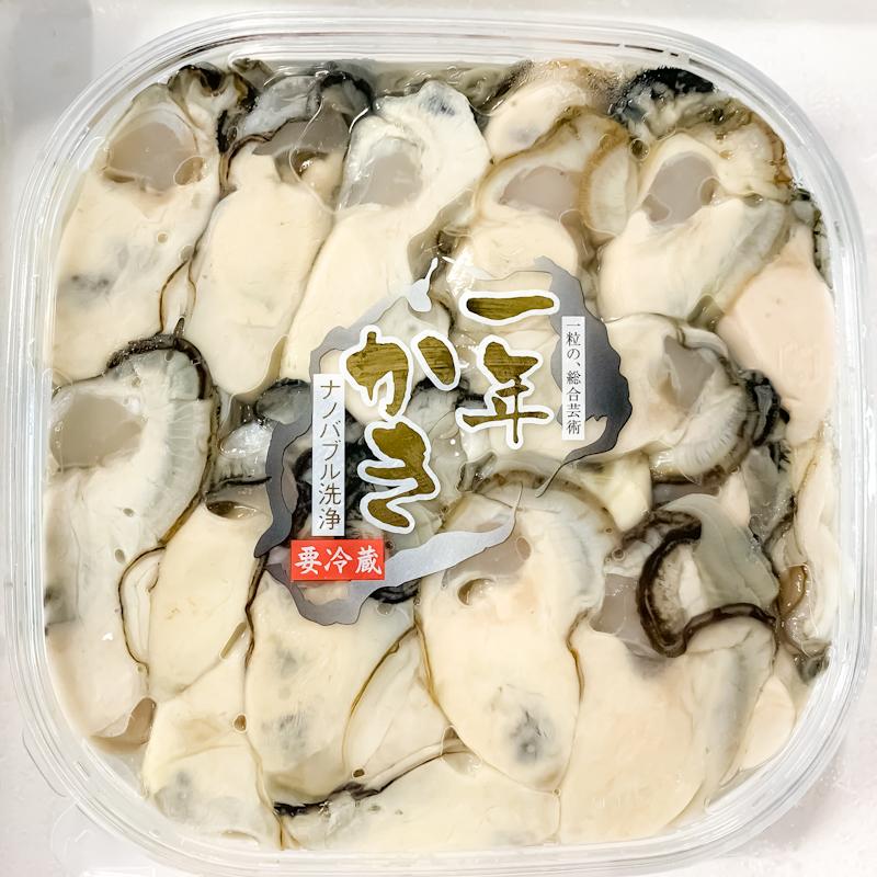 牡蠣円盤(一年かき)